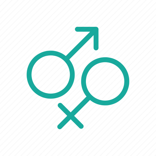 female, gender, male, man, medical, outline, woman icon