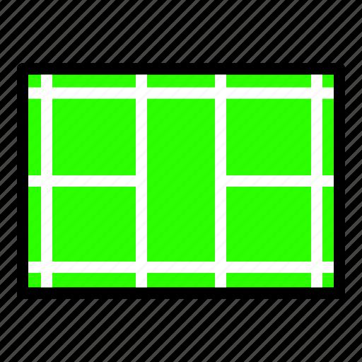badminton, court, sport icon