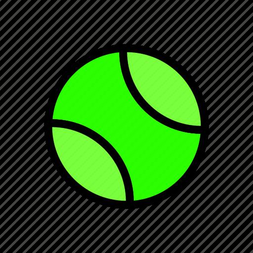 ball, baseball, tennis icon