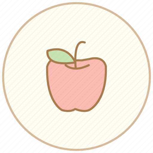 apple, dinner, eating, food, fruite, kitchen, restaurant icon