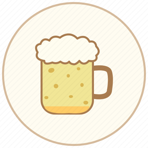 beer, cooking, cup, dinner, drink, eating, food, mug, restaurant icon
