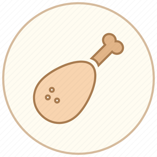 chicken, cook, cooking, dinner, eating, food, kitchen, meat, restaurant icon
