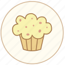 birthday, cake, candy, coffee, cooking, cream, cupcake, dessert, eating, food, kitchen, restaurant, snack, sweet icon