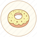 breakfast, cake, coffee, cook, cooking, dessert, donut, eating, food, kitchen, restaurant, snack, sweet, tea icon