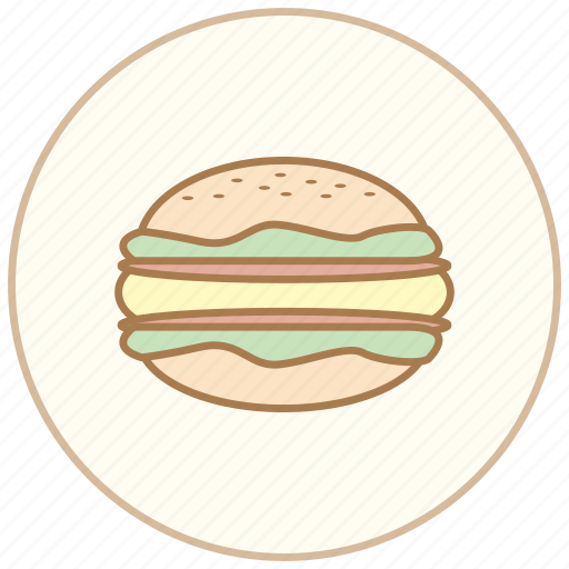 breakfast, burger, cook, cooking, dinner, eating, egg, food, hamburger, kitchen, restaurant icon