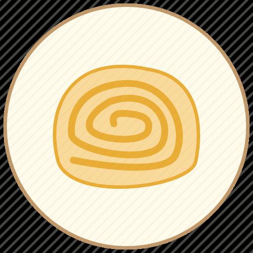 cake, cook, cooking, cream, dessert, dinner, eating, icecream, jam, kitchen, restaurant, roll, snack, sweet icon