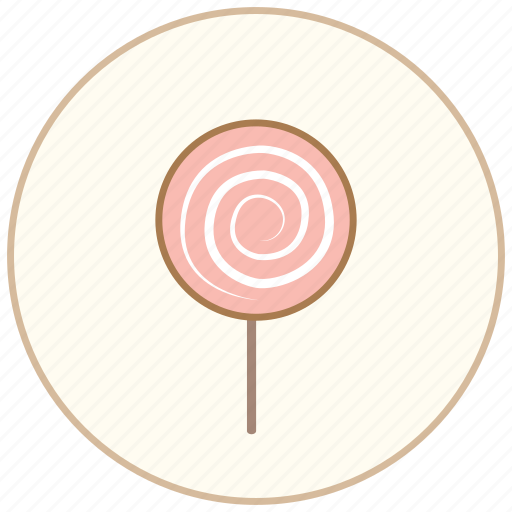 cake, candy, dessert, eating, food, kitchen, lollipop, snack, sweet icon