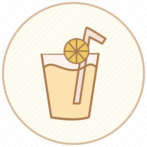 beverage, cup, drink, glass, juice, orange, tea icon