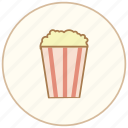cook, cooking, dessert, eating, food, kitchen, popcorn, restaurant, snack, sweet icon