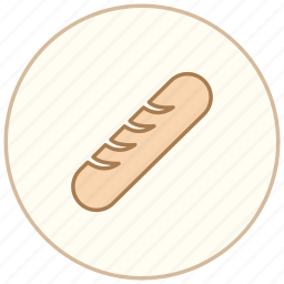 breakfast, cook, cooking, dinner, eating, food, kitchen, restaurant, sausage icon