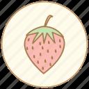 cooking, dessert, eating, food, fruit, fruite, kitchen, restaurant, strawberry, sweet icon