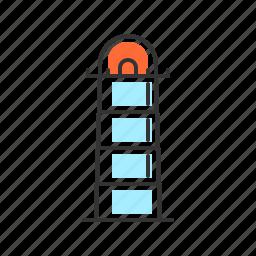 building, house, light, light house icon
