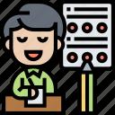 test, assessment, quiz, exam, assignment icon