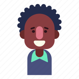 avatar, face, male, man, smile, user icon