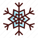 christmas, ice, snow, snowflake icon