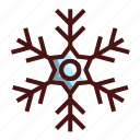 christmas, holiday, ice, snow, snowflake icon