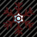 snowflake, holiday, christmas, ice, snow