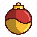 christmas, holiday, ornament, sphere
