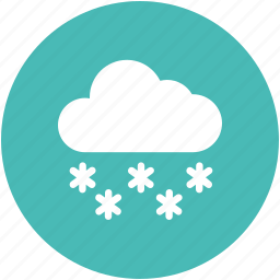 cloud, cold, snow, winter icon