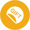 birthday, gift, giftbox, ribbon, surprise icon