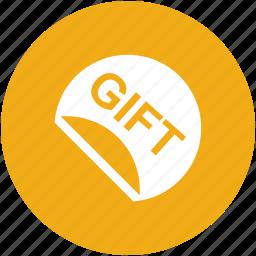 birthday, gift, giftbox, ribbon, surprise icon
