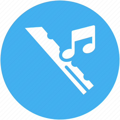 flute, music, musical instrument, musical note icon