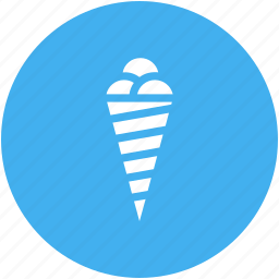 cone, food, ice cream, ice cream cone, ice cream cones, ice creams, symbology icon