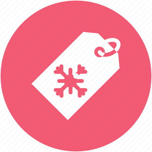 christmas, label, tag icon