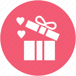 christmas present, gift, giftboxes, heart, loving, present icon