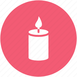 candle, christmas, light icon