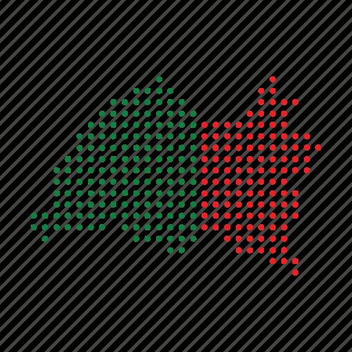 country, location, map, nation, navigation, tatarstan icon