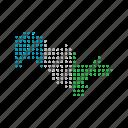 asian, country, location, map, nation, navigation, uzbekistan icon
