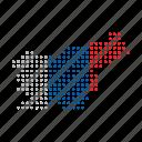 country, european, map, nation, slovenia icon