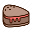 bakery, cake, candy, cupcake, dessert, food, sweet icon