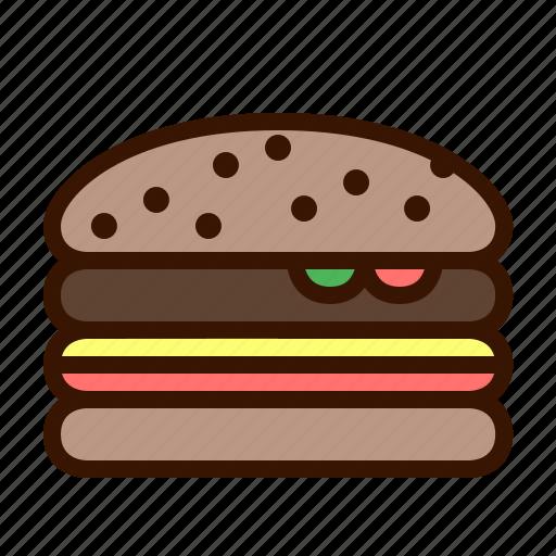 Burger, cheeseburger, fast food, food, hamburger, sandwich icon - Download on Iconfinder