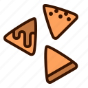 chips, food, fries, nachos, snack, snacks icon