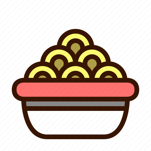 bowl, food, meal, noodles, soup, spaghetti icon