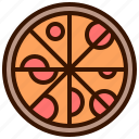 cooking, fast food, food, italian, meal, pizza icon