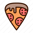 fast food, food, italian, italian food, meal, pizza, slice icon