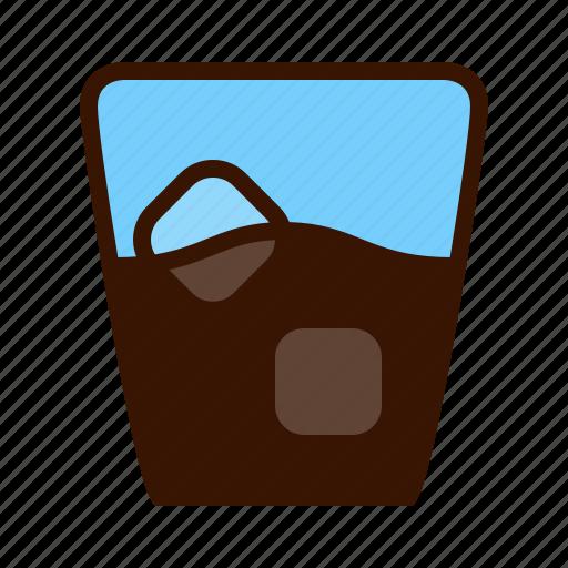 beverage, coffee, drink, glass, soda, tea icon