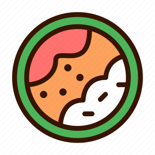 asian, food, healthy, japanese, maki, sushi, vegetable icon