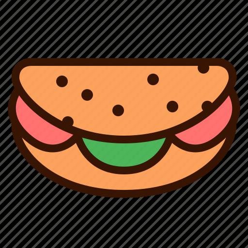 Burguer, fast food, food, hamburguer, meal, restaurant, taco icon - Download on Iconfinder