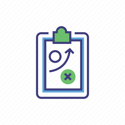 clip, clipboard, management, plan, presentation, strategy, tactic icon
