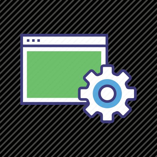 configuration, gear, preferences, set, setting, tools, web setting, wheel icon