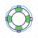 costomer support, help, life preserver, lifesaver, question, support icon
