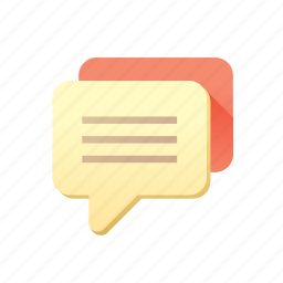 chat, massage, sms, text icon