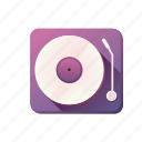 audio, dj, music, playlist, sound icon