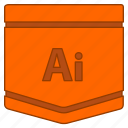 adobe illustrator, e learning, illustrator, learning, tutorial, vector illustration icon