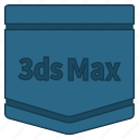 autodesk 3ds max, cad package, e learning, learning, tutorial icon