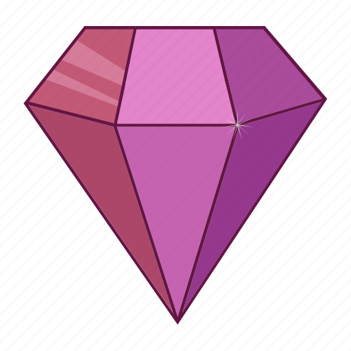 brilliant, colored, diamond, gems, jewel, precions, stone icon